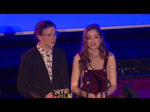Alexandra Roach and Charlotte Hope present Best Documentary 12 and Under