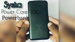 Syska | Power Core 100 | Power Bank