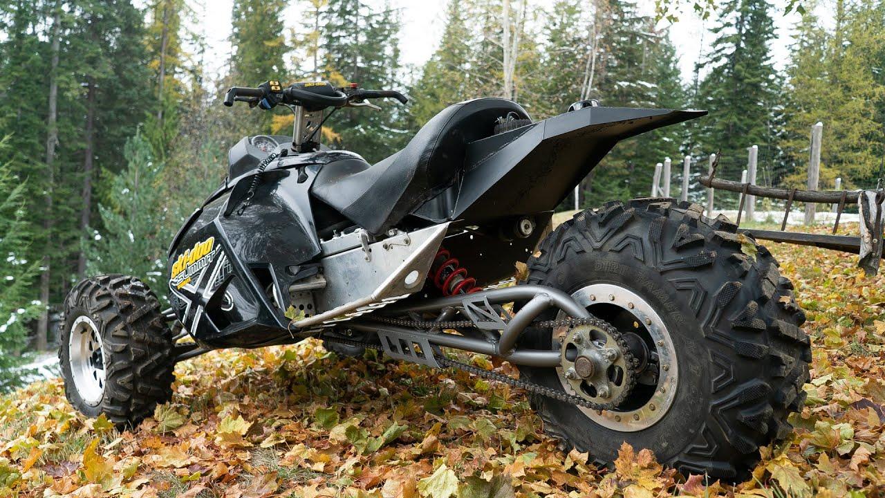 Off Road Reverse Trike Raw Time Lapse 1000cc 2 Stroke Full Build