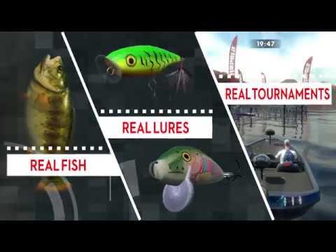 New Rapala® Fishing Pro Series Video Game