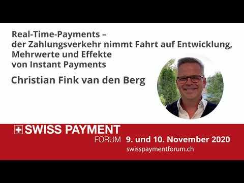 Swiss Payment Forum 2020: Christian Fink, Van Den Berg