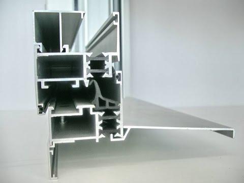 Como hacer una ventana de aluminio de 2 pulgadas youtube for Como fabricar ventanas de aluminio
