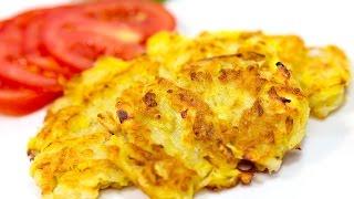 дРАНИКИ из КАБАЧКОВ и картофеля  Дракабаники  Драники кабачковые рецепт