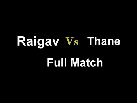 Raigad Vs Thane night  tennis cricket Tournament