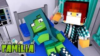 Minecraft Familia #15 - SALVEI OS MORADORES DA VILA  !!
