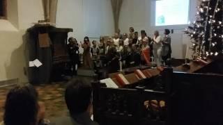 Kerstfeest kerk Augustinusga