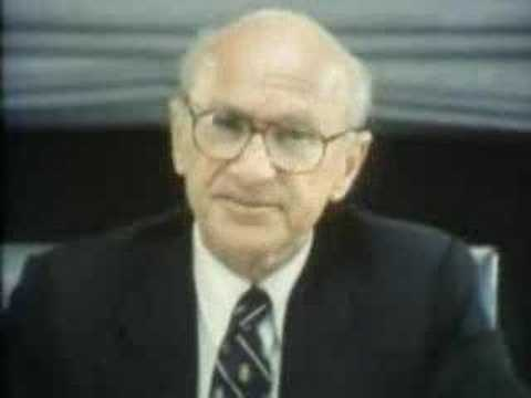 Milton Friedman: The Purpose of the Federal Reserve