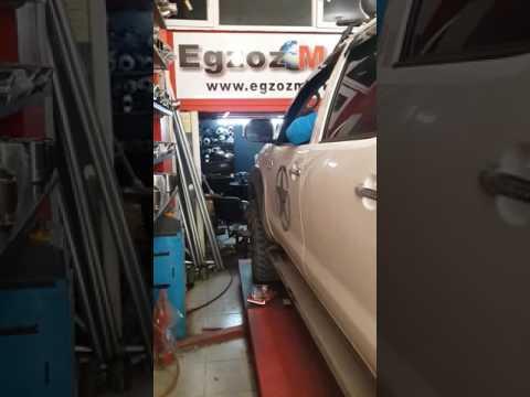 Toyota Hilux  kumandalı egzoz
