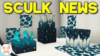 NEW MINECRAFT 1.19 SCULK INFO!