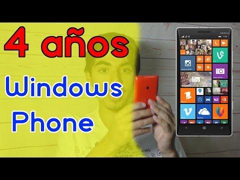 4 años usando Windows Phone y Windows 10 Mobile