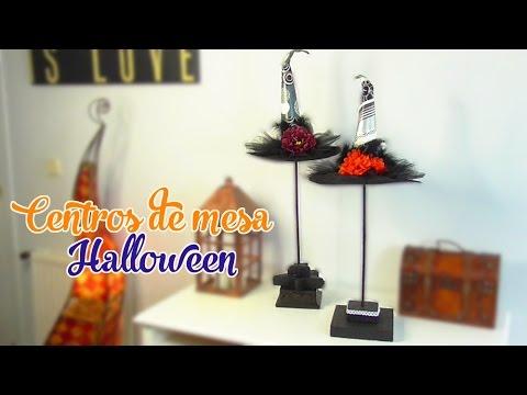 Decoraci n elegante para halloween centro de mesa de - Decoracion mesa halloween ...