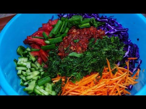 Салат Весенний АССОРТИ! Просто, Дёшево и ВКУСНО! Самый витаминный Салат