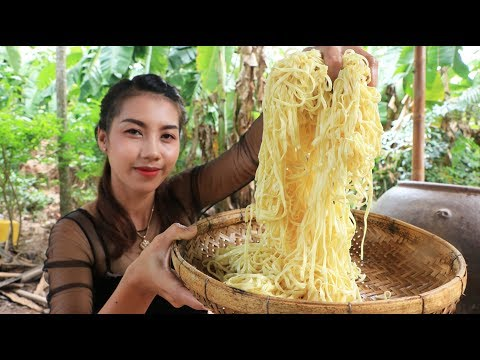 Yummy cooking noodle with shrimp recipe – Cooking skill