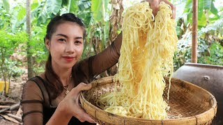 Yummy cooking noodle with shrimp recipe - Cooking skill
