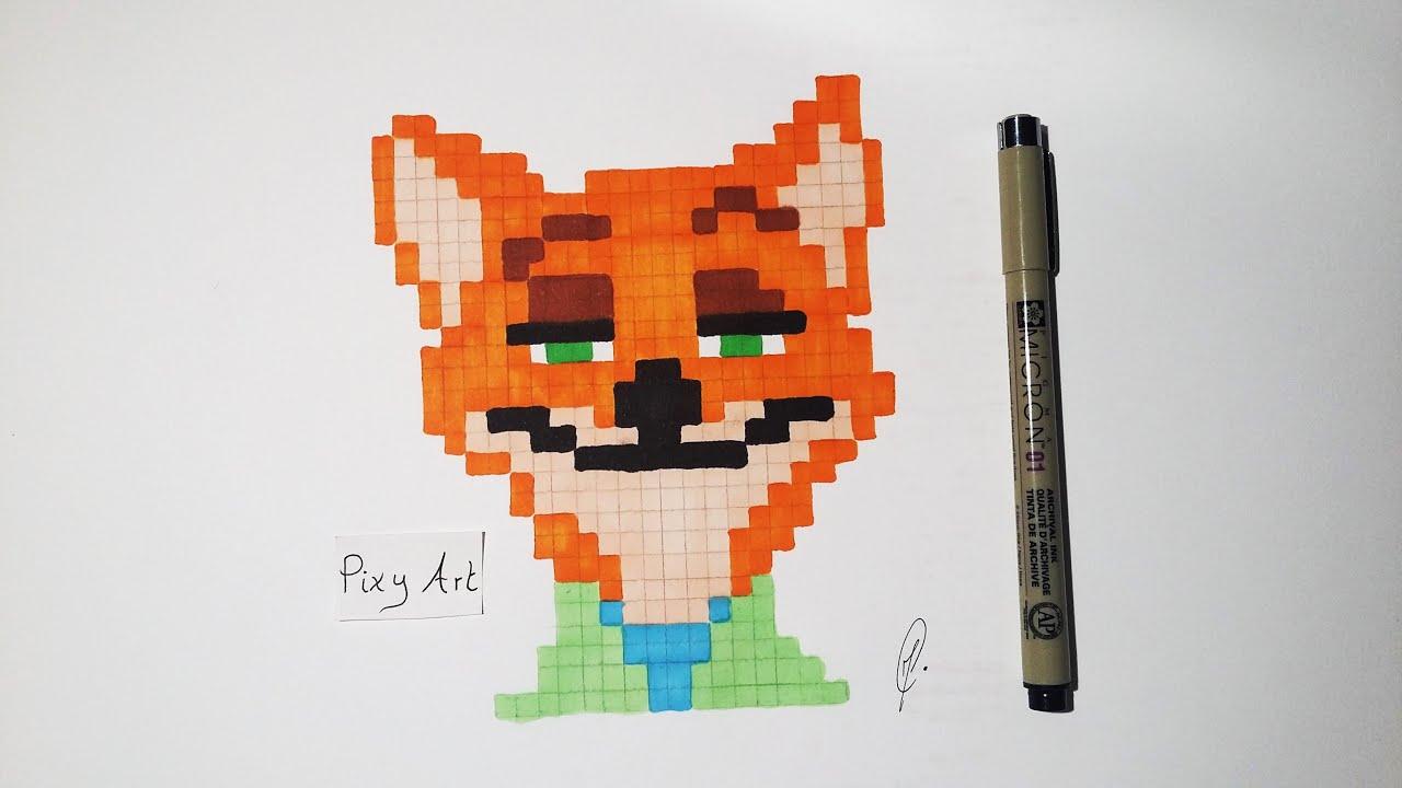 pixel art zootopia