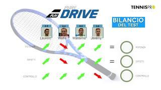 Test racchetta Babolat Pure Drive 300 g