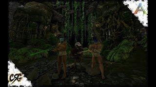 ARK: Survival Evolved - JUNGLE CAVE ATTEMPT!!! S1 E16 (Ragnarok Map)