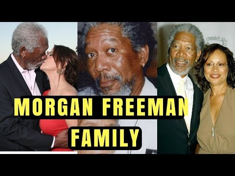 Actor Morgan Freeman Family Photos with Former Spouse, Son, Daughter, Mother, Grand Daughter