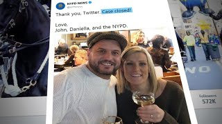 NYPD helps couple who drops engagement ring in street grate