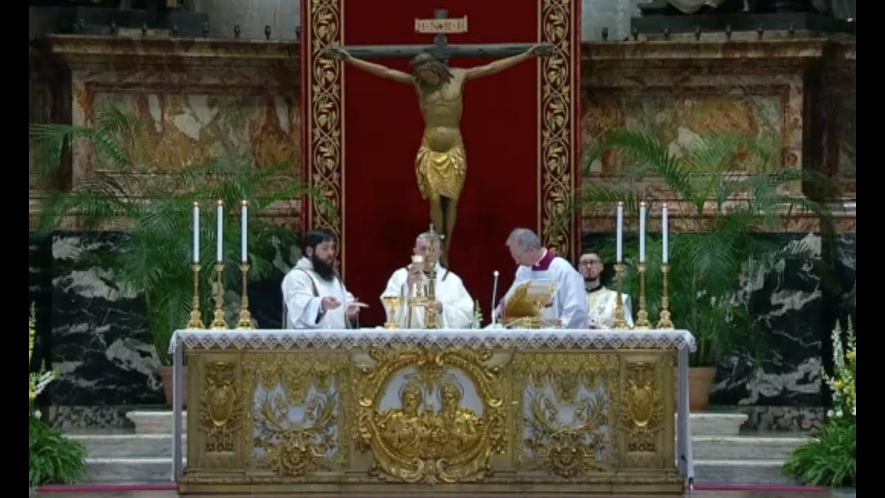 Pascua de Resurrección en el Vaticano