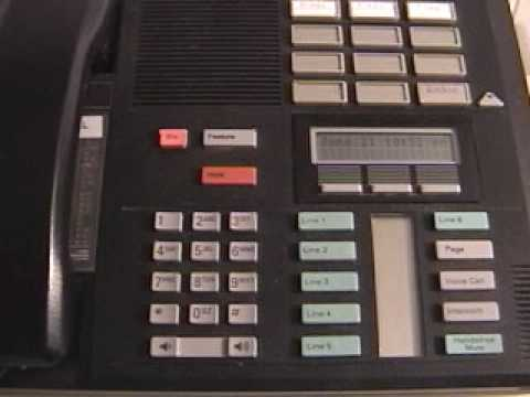 Program speed dial buttons on Norstar phone