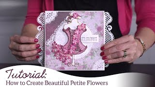 How to Create Petite Florals the EZ way!