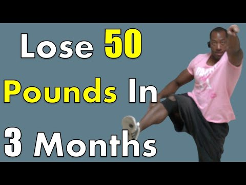 how to lose 50 pounds in three months