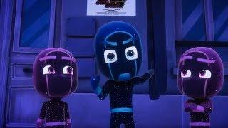 Герои в масках | Ночной Ниндзя снимает кино | мультики для детей