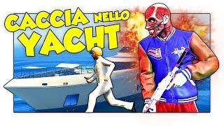 GTA 5 ITA - NASCONDINO CON L'ASSASSINO SULLO YACHT! w/ Two Players One Console