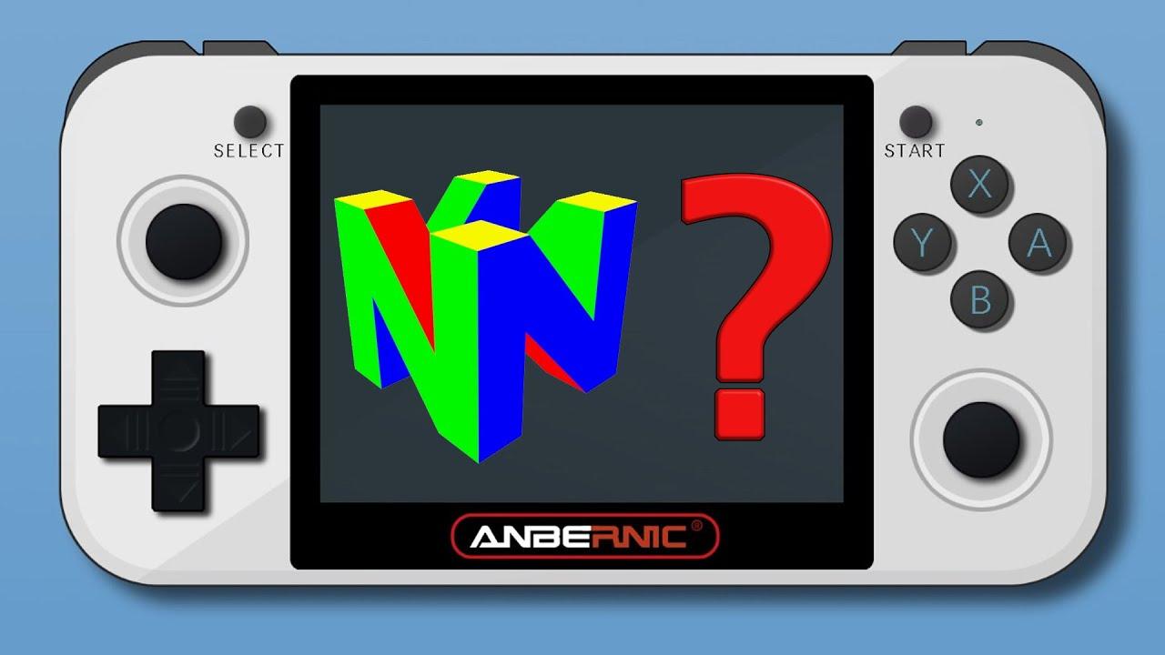 N64 Alpha Performance Retro Game 350 Rg350