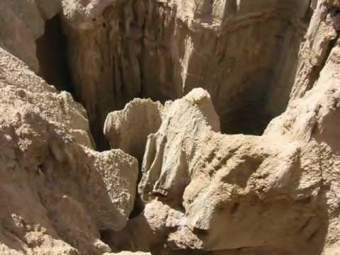 Le Rocher de Sel près de Djelfa