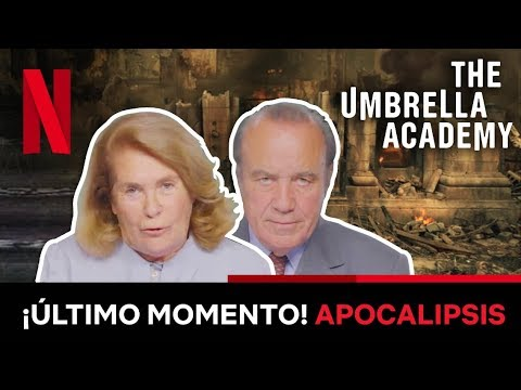 Mónica y César - The Umbrella Academy