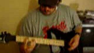 Van Halen ( ME WISE MAGIC ) Guitar Riffs Attempt