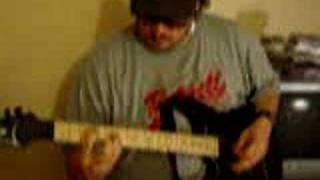 Van Halen ( ME WISE MAGIC ) Guitar Riffs Attempt