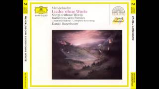 F. Mendelssohn/D. Barenboim (Songs without words, Complete)