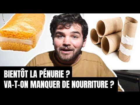 BIENTÔT LA PÉNURIE ? ALIMENTATION, PQ, ETC.