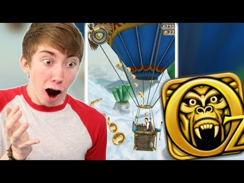 Temple Run: Oz - HOT AIR BALLOON - Part 4 (iPhone Gameplay Video)
