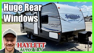 2017 Springdale 2020QB Used Compact Couple's Camping Keystone Travel Trailer