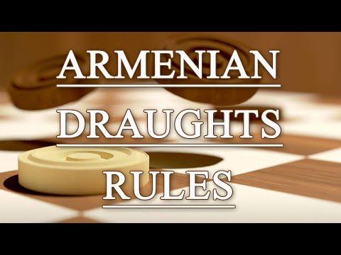 Правила игры в армянские шашки (Armenian Draughts Rules)