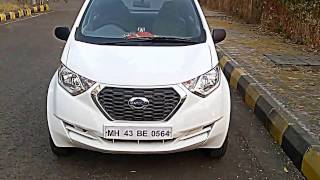 Datsun Redigo White colour T Model Full Interios And Exterior View