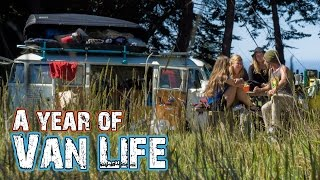 A Year of Van Life - Living in a VW Bus in the USA