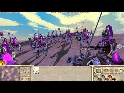 Rome Total War Online Battle #2476: One Unit Free For All