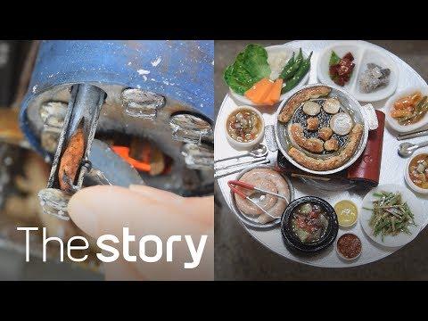 돌하우스(Dollhouse) 안에 삼겹살, 곱창, 분식이 들어갔다?! : 돌하우스/미니어처 제작, 김동희(ENG/KOR/JPN sub)
