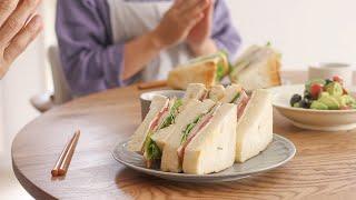私の自己紹介します! I will introduce myself! 和食/サンドイッチ/油淋鶏風 HidaMari Cooking