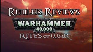 Warhammer 40,000 Rites Of War - Remleiz Reviews