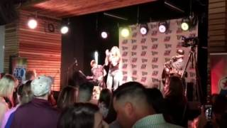 """Danielle Bradbery's performance of """"Worth It"""" at New 93Q show in Houston"""