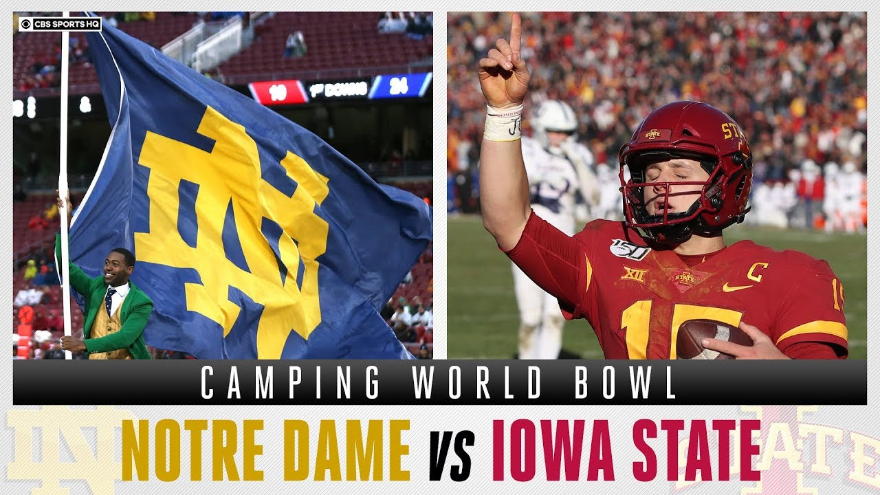 Camping World Bowl: Live updates from Iowa State vs. No. 15 Notre ...
