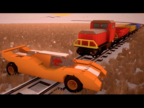 Brick Rigs PC Ep2- Train VS Porsche LP 917