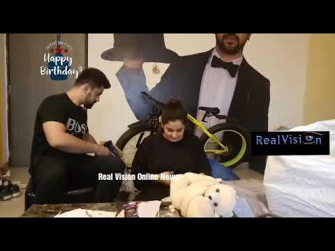 Aditi Rathore birthday segment with Zain Imam Adiza segment part 4 exclusive Real Vision Online News