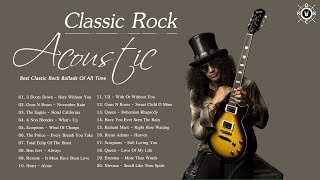 Acoustic Classic Rock | Greatest Hits Classic Rock | Best Classic Rock Ballads Of All Time